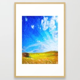 Abstract Landscape 2 Framed Art Print