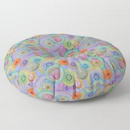 Circled for fun Floor Pillow