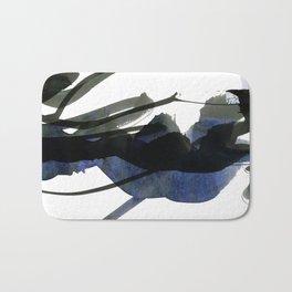 gestural abstraction Bath Mat