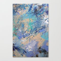 Clash of Tides (2 of 3) Canvas Print