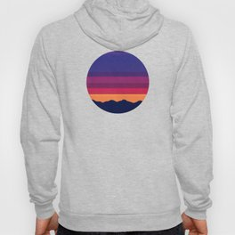 Over The Sunset Mountains Hoody