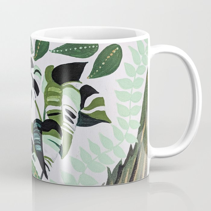 assorted leaves Coffee Mug