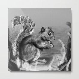 Rx Squirrel  Metal Print