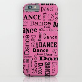 Just Dance - Pink iPhone Case