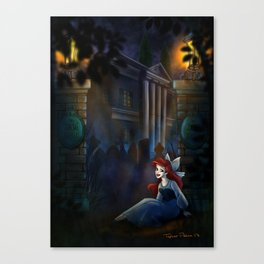 A's Mansion Visit by Topher Adam 2017 Canvas Print