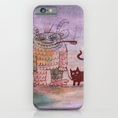 evil sorcerer with his cat Slim Case iPhone 6s