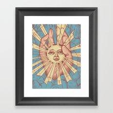 Dumb Sun Framed Art Print
