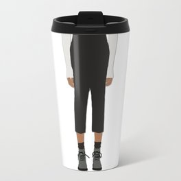 Menswear Fashion Illustration Pant Travel Mug