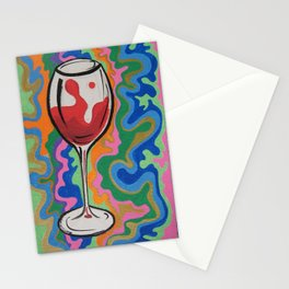 Red and Sweet Stationery Cards