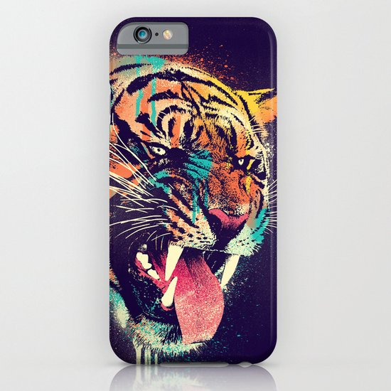 FEROCIOUS TIGER iPhone & iPod Case