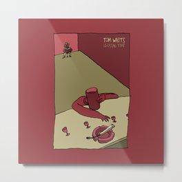 Tom Waits - Closing Time Metal Print