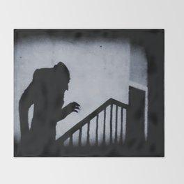 Nosferatu Classic Horror Movie Throw Blanket