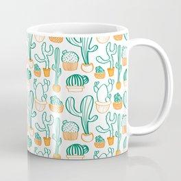 Cacti Pattern Coffee Mug