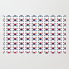 flag of south korea-korea,asia, 서울특별시,부산광역시, 한국,seoul Rug