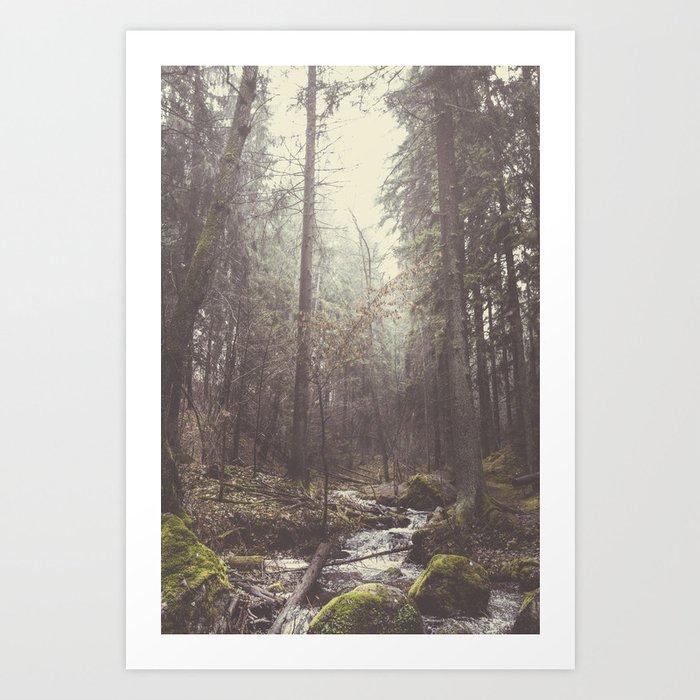 The paths we wander II Art Print