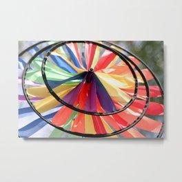 Wind Wheel Metal Print