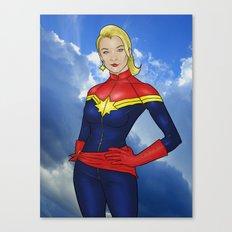 Carol Danvers Canvas Print