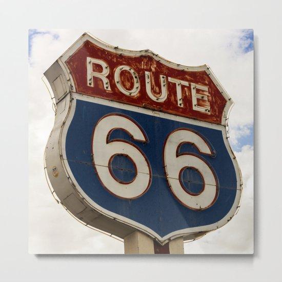 U.S. Route 66  Metal Print