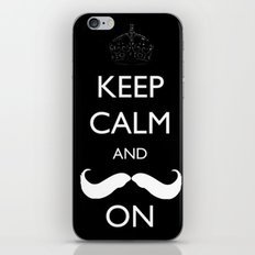 Mustache iPhone & iPod Skin