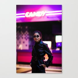 Agent Candy Canvas Print