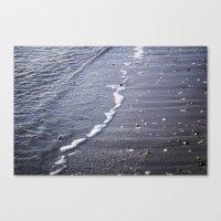 salt water Canvas Prints featuring Salt water by Emelie Johansson