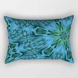 Big Blue Flower Rectangular Pillow