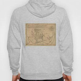 Vintage Map of The Mount Vernon Plantation (1801) Hoody