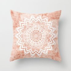 MANDALA SAVANAH Throw Pillow