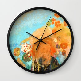 "Odilon Redon ""Evocation of Roussel"" Wall Clock"