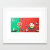 portugal Framed Art Prints featuring Portugal by Ana  La Bella Carapinheiro