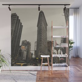 Flatiron building, New York architecture, NY building, I love NYC Wall Mural