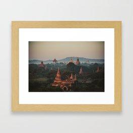 Asia 4 Framed Art Print