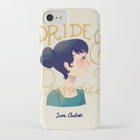 pride and prejudice iPhone & iPod Cases featuring Pride and Prejudice by Nan Lawson