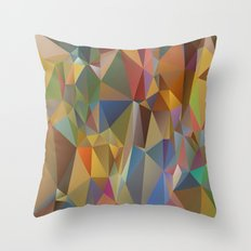 Spacey Emergence Throw Pillow