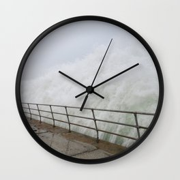 The Violence is Here Wall Clock