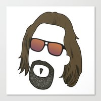 the dude Canvas Prints featuring Dude by DE.FE.