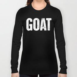Distressed GOAT Long Sleeve T-shirt