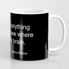 Harry P quote Coffee Mug
