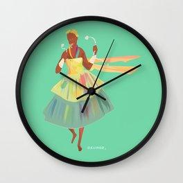 ORIXAS_ oxumaré Wall Clock