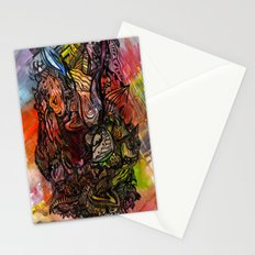 Watercolor Illusion  Stationery Cards