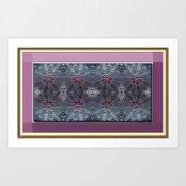 Dusty Rose Print Art Print