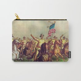 President Roosevelt leads a pivotal battle at San Juan Heights in Cuba. Carry-All Pouch