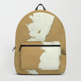 """Egon Schiele """"Female Nude with White Border"""" Backpack"""