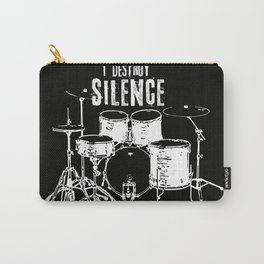 I destroy silence Carry-All Pouch