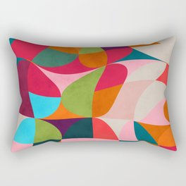 shapes spring colors Rectangular Pillow