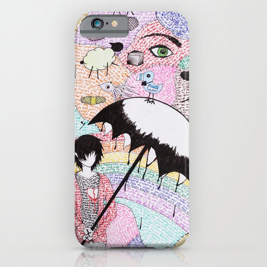 A Word is Worth 1000 pictures. iPhone & iPod Case