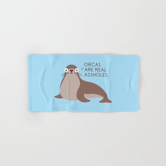 Seal of Reproval Hand & Bath Towel