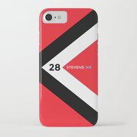 f1 iPhone & iPod Cases featuring F1 2015 - #28 Stevens by MS80 Design