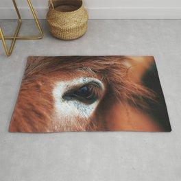 Horse Eye Close Up Ultra HD Rug