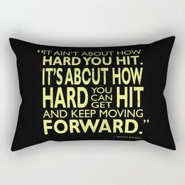 How Hard You Hit Rectangular Pillow